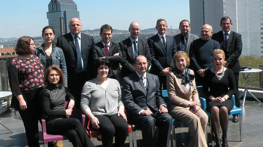An image of the delegates at the Black Sea Commission