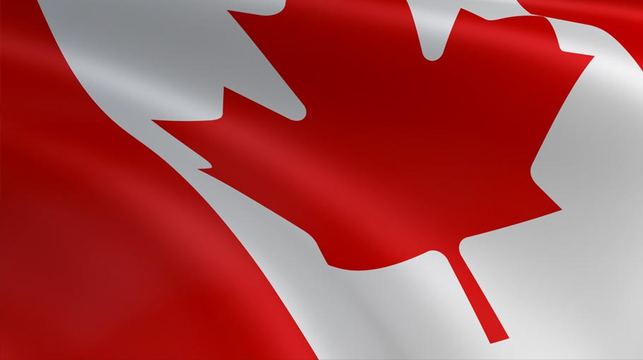 A colour image of the Canadian Flag - Forecast Technology